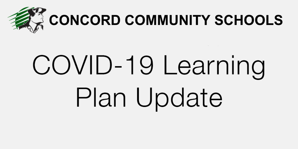 COVID Learning Plan update