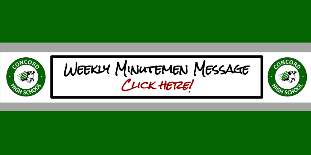 Minuteman Message and Daily Announcements